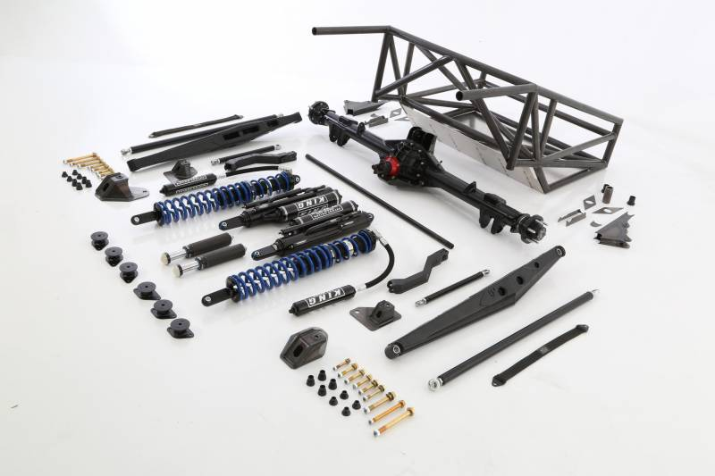 07-13 Chevy Long Travel Back Half 4-Link Race Kit - Rear