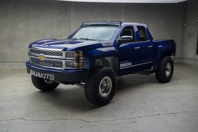 14 Chevy Silverado 2wd Long Travel Bk Half 4 Link Race