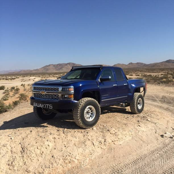 14+ Chevy Silverado 2WD Long Travel Race Kit | Baja Kits