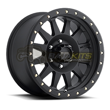 Method Race - Method Race Double Standard Wheel Matte Black