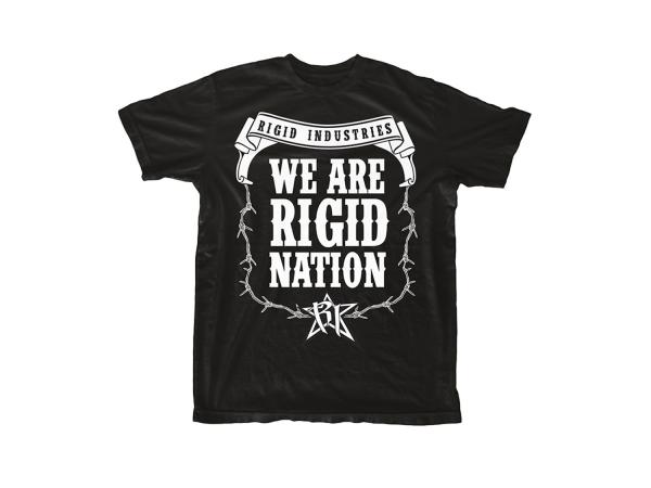 Rigid Industries - Rigid Industries Rigid Nation T-Shirt Mens-SM