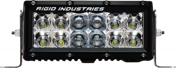 "Rigid Industries - Rigid Industries 6"" E Series - Spot/Flood Combo- Amber"