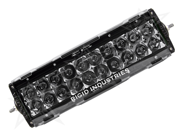 "Rigid Industries - Rigid Industries 10"" E-Series Light Cover - Clear - trim 4"" & 6"""