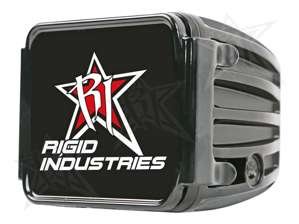 Rigid Industries - Rigid Industries Protective Polycarbonate Cover - Dually/D2 - Black
