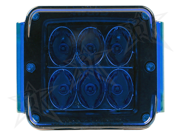 Rigid Industries - Rigid Industries Protective Polycarbonate Cover - Dually/D2 - Blue