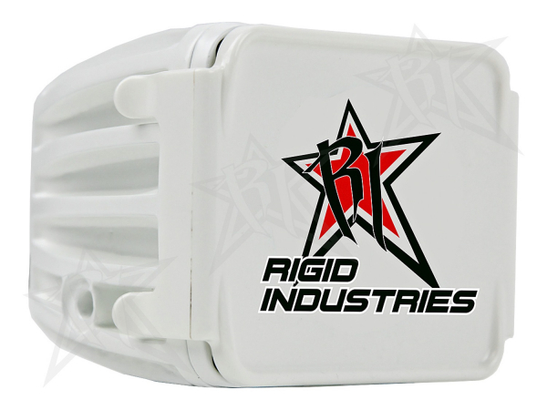 Rigid Industries - Rigid Industries Protective Polycarbonate Cover - Dually/D2 - White