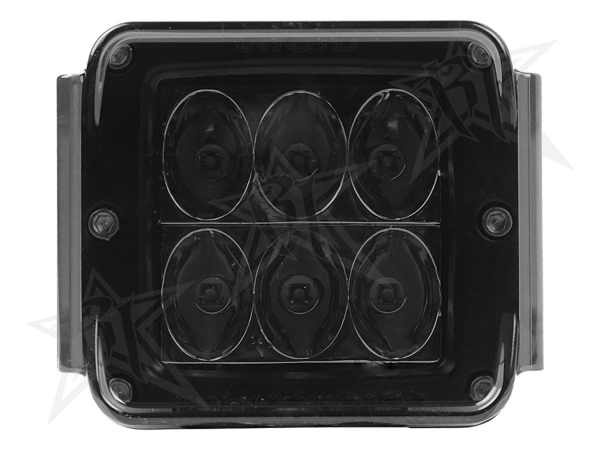 Rigid Industries - Rigid Industries Protective Polycarbonate Cover - Dually/D2 - Smoked