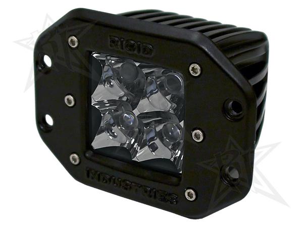 Rigid Industries - Rigid Industries Dually - Flush Mount - Spot - Single