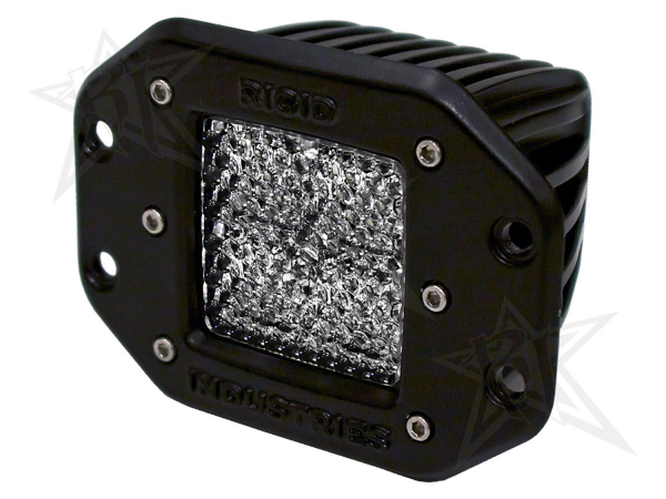 Rigid Industries - Rigid Industries Dually - Flush Mount - 60 Deg. Lens - Single