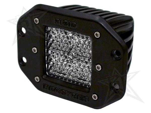 Rigid Industries - Rigid Industries Dually - Flush Mount - 60 Deg. Lens - Single