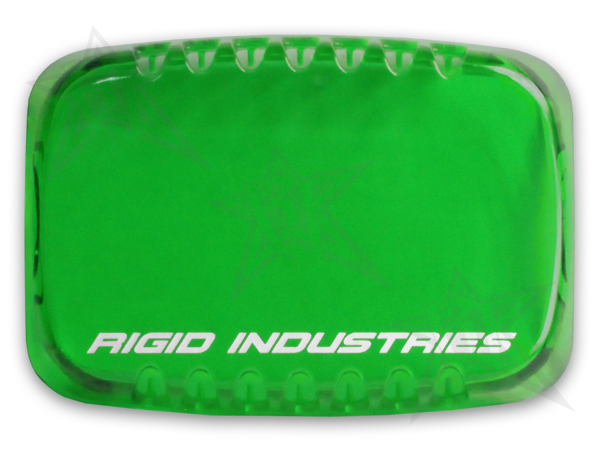 Rigid Industries - Rigid Industries SR-M Light Cover- Green