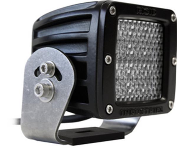 Rigid Industries - Rigid Industries D2 HD Black- 60 Deg. Lens - Single