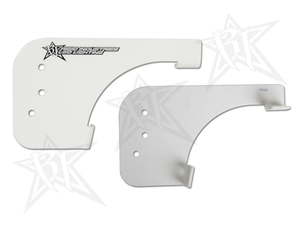 Rigid Industries - Rigid Industries Brow Mount- White