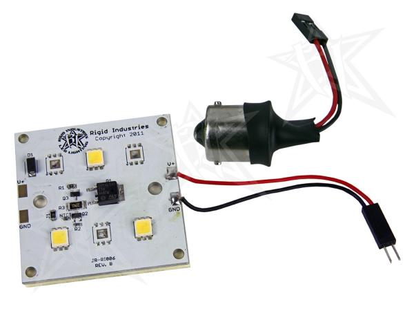 Rigid Industries - Rigid Industries 3 LED 300 LUMEN RETROFIT - 1141/1156 BASE