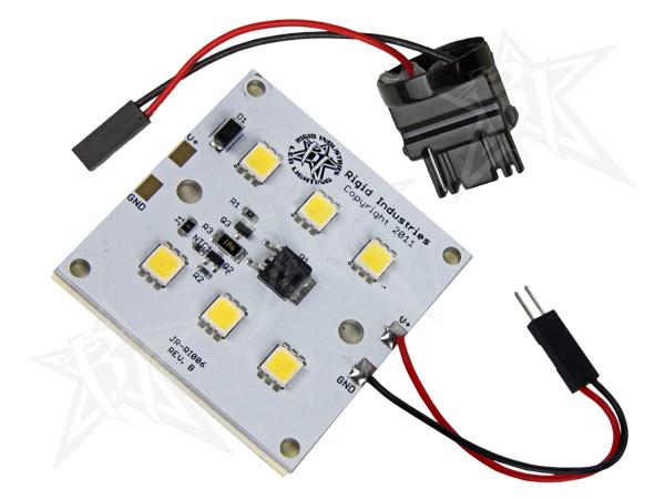 Rigid Industries - Rigid Industries 6 LED 450 LUMEN RETROFIT - 3156 BASE