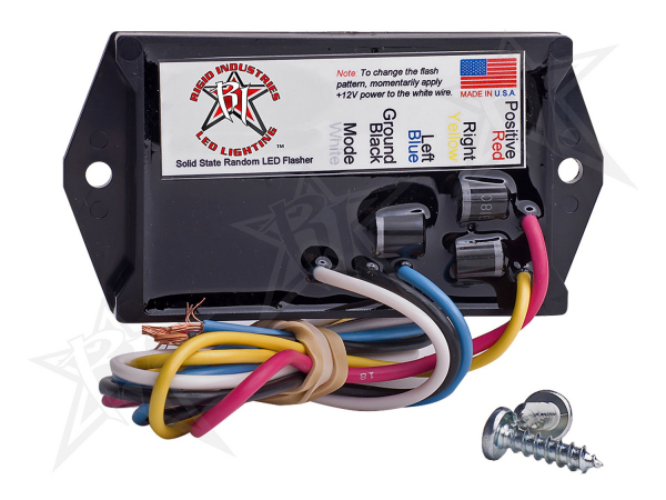 Rigid Industries - Rigid Industries 3 Amp LED Flasher - 2 Output - 12 Volt