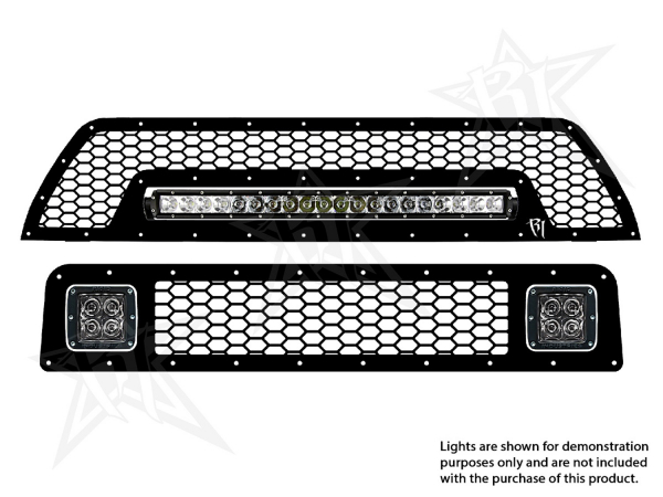 "Rigid Industries - Rigid Industries Toyota 4-Runner - 2010-2013 Grille Kit - 2X Dually/D2, 20"" SR-Series"