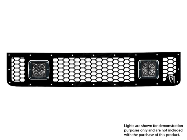 Rigid Industries - Rigid Industries Toyota FJ- 2005-2013 - Upper Grille Kit ONLY/ 2xDually/D2