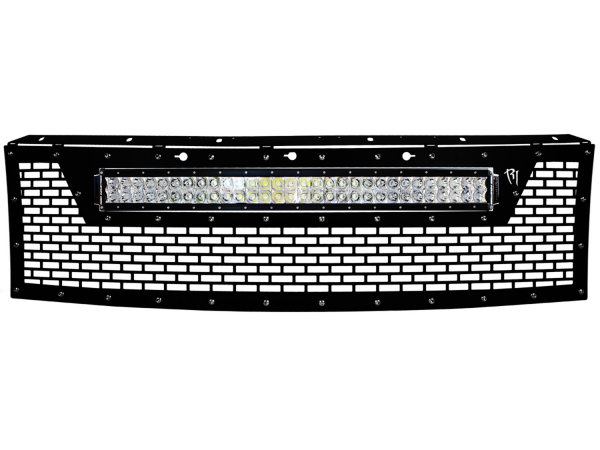 "Rigid Industries - Rigid Industries 2010-2014 Ford Raptor Grille (no front camera) - Fits 30"" RDS Series Light"