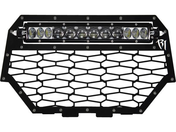 """Rigid Industries - Rigid Industries Polaris RZR XP1000 - 2014 Grille Kit - Fits 10"""" SR-Series"""