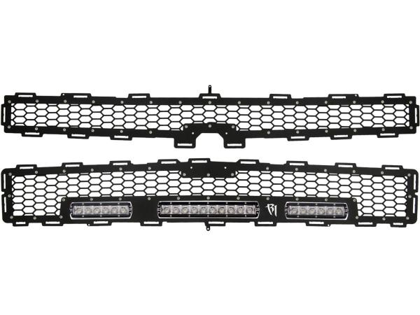 "Rigid Industries - Rigid Industries Chevy 1500 Z71 Grille Kit - 10"" SR Series & 2x 6"" SR Series"