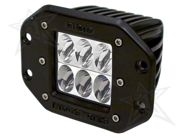 Rigid Industries - Rigid Industries D2 - Flush Mount - Driving - Single