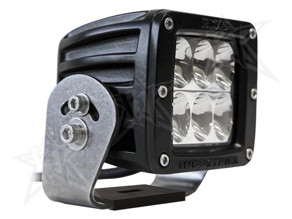 Rigid Industries - Rigid Industries D2 HD Black- Driving - Single