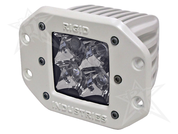 Rigid Industries - Rigid Industries Marine - Flush Mount - Dually - Spot - Single