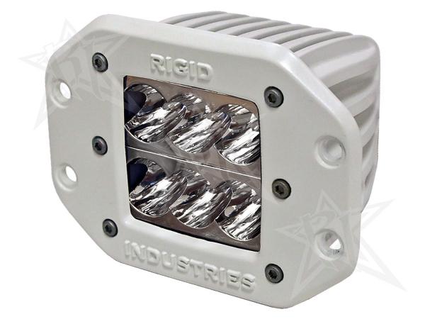 Rigid Industries - Rigid Industries Marine - Flush Mount - D2 - Wide - Single