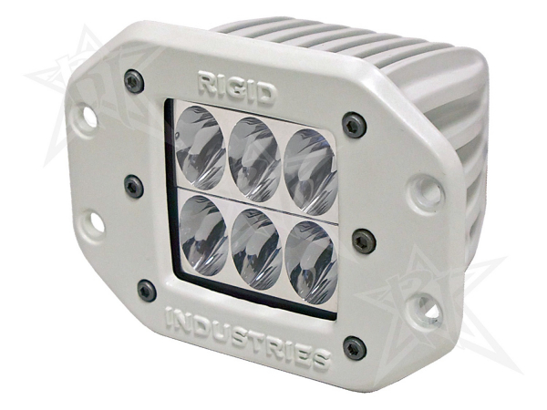 Rigid Industries - Rigid Industries Marine - Flush Mount - D2 - Driving - Single