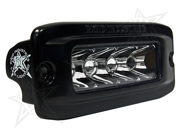 Rigid Industries - Rigid Industries SRQ - Spot - White - Flush Mount - Single