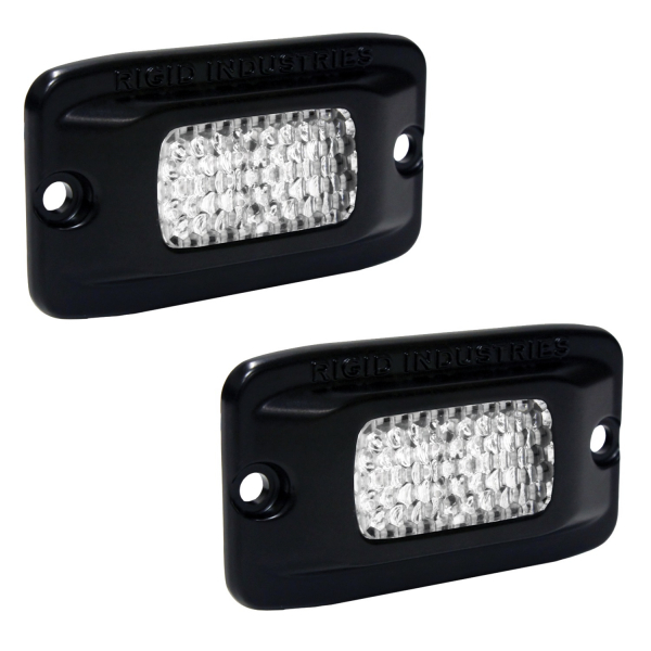 Rigid Industries - Rigid Industries SRM - Flush Mount - Diffused - Back Up Light Kit