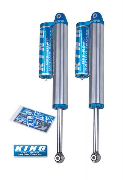 King Shocks - King Shocks Rear 2.5 Piggyback Reservoir  Shock