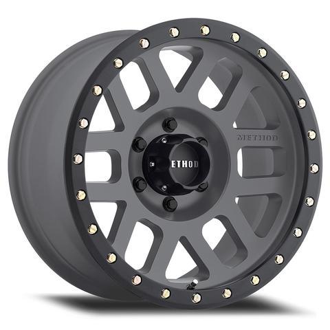 Method Race - Method Race Grid Wheel Titanium