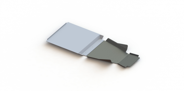 Baja Kits - 14+ Chevy Silverado 2 Piece Aluminum Skid Plates