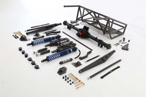 Baja Kits - 14+ Chevy Silverado 2WD Long Travel Back Half 4-Link Race Kit - Rear