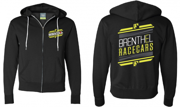 Brenthel Race Cars Zip Up Hoodie (single)
