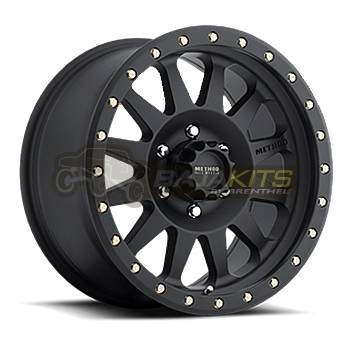 Method Wheels - Street Wheels - Method Race - Method Race Double Standard Wheel Matte Black