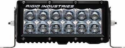 "E-Series Light Bars - E-Series - Rigid Industries - Rigid Industries 6"" E Series - Spot- Amber"