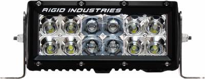 "E-Series Light Bars - E-Series - Rigid Industries - Rigid Industries 6"" E Series - Spot/Flood Combo- Amber"