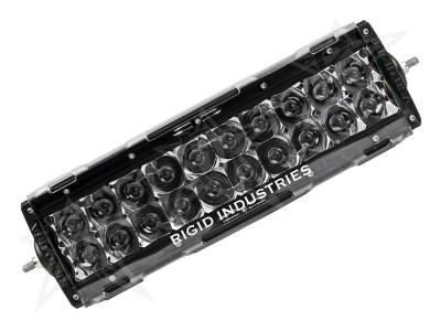 "Rigid Industries - Rigid Industries 10"" E-Series Light Cover - Clear - trim 4"" & 6"""