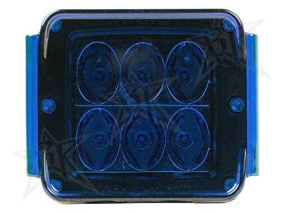 Light Covers - D-Series/D-Series HD Covers - Rigid Industries - Rigid Industries Protective Polycarbonate Cover - Dually/D2 - Blue