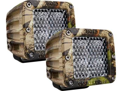 D-Series Lights - Dually - Rigid Industries - Rigid Industries Dually - 60 Deg. Lens - Set of 2