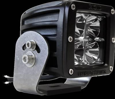 D-Series Lights - Dually HD - Rigid Industries - Rigid Industries Dually HD Black- Flood - Single