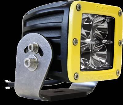 D-Series Lights - Dually HD - Rigid Industries - Rigid Industries Dually HD Yellow- Flood - Single