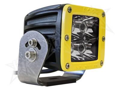 D-Series Lights - Dually HD - Rigid Industries - Rigid Industries Dually HD Yellow- Spot - Single