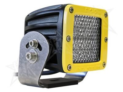 D-Series Lights - Dually HD - Rigid Industries - Rigid Industries Dually HD Yellow- 60 Deg. Lens - Single