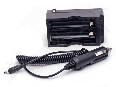 Accessories - Installation Accessories - Rigid Industries - Rigid Industries AC/DC Charger For Dual 18650 Li-Ion Batteries