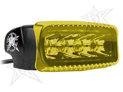 Light Covers - SR-Q Series Covers - Rigid Industries - Rigid Industries SR-Q Light Cover- Amber