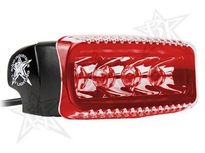 Light Covers - SR-Q Series Covers - Rigid Industries - Rigid Industries SR-Q Light Cover- Red
